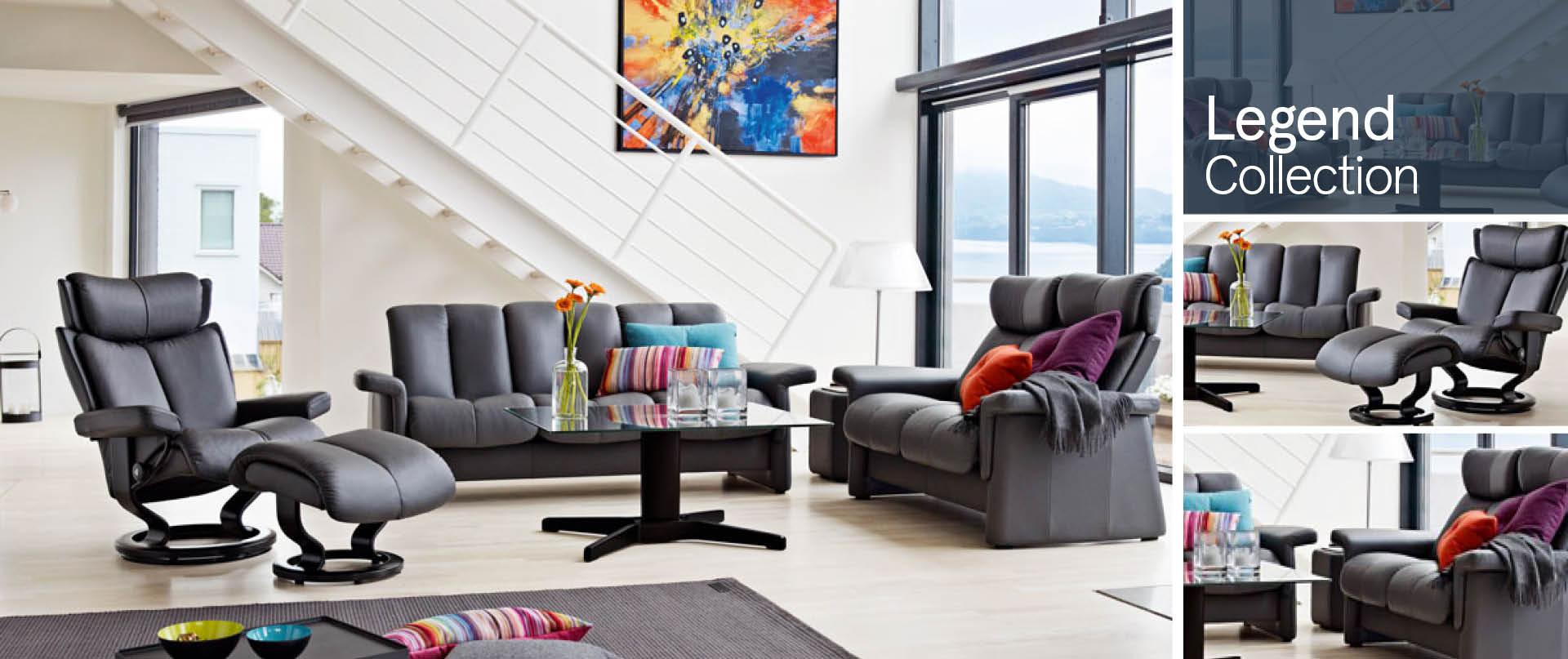 Legend Leather Sofa Ranges