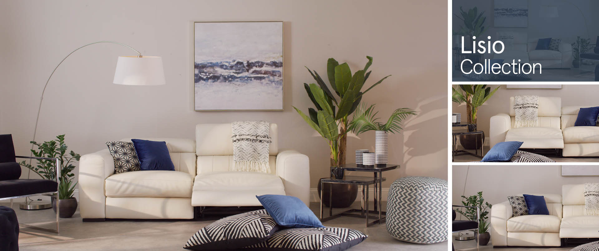 Lisio Leather Sofa Ranges