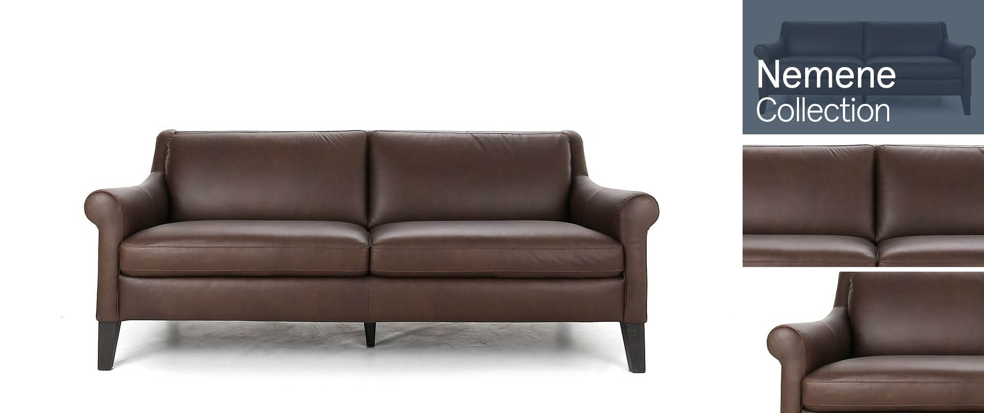 Nemene Leather Sofa Ranges