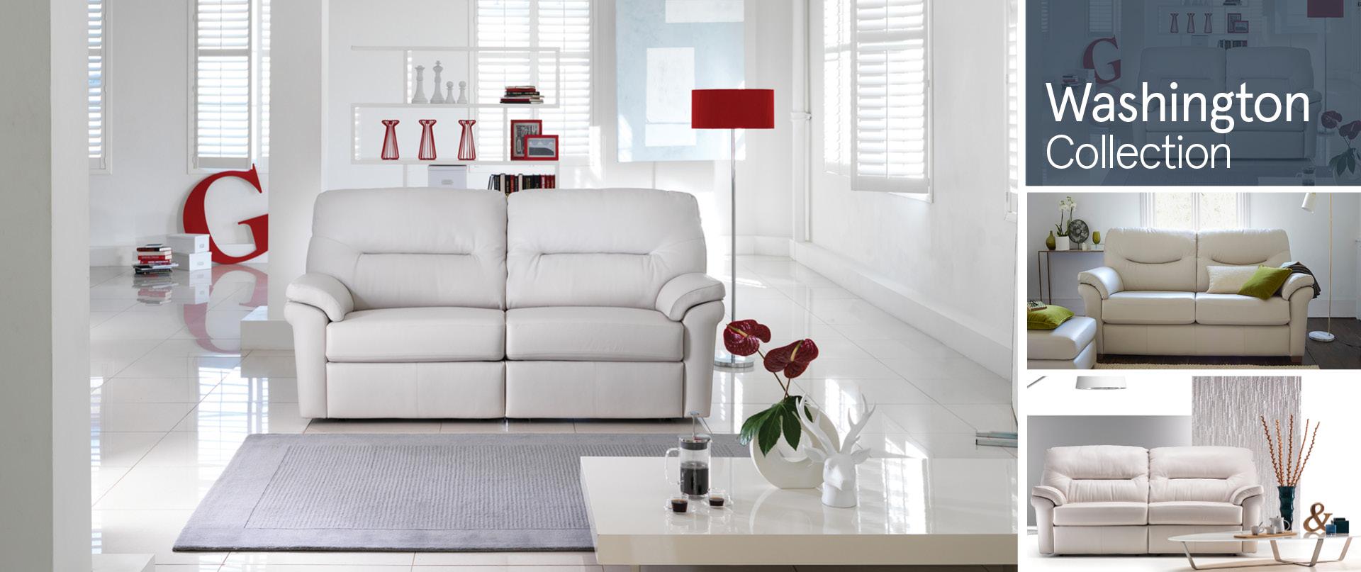 Washington Leather Sofa Ranges