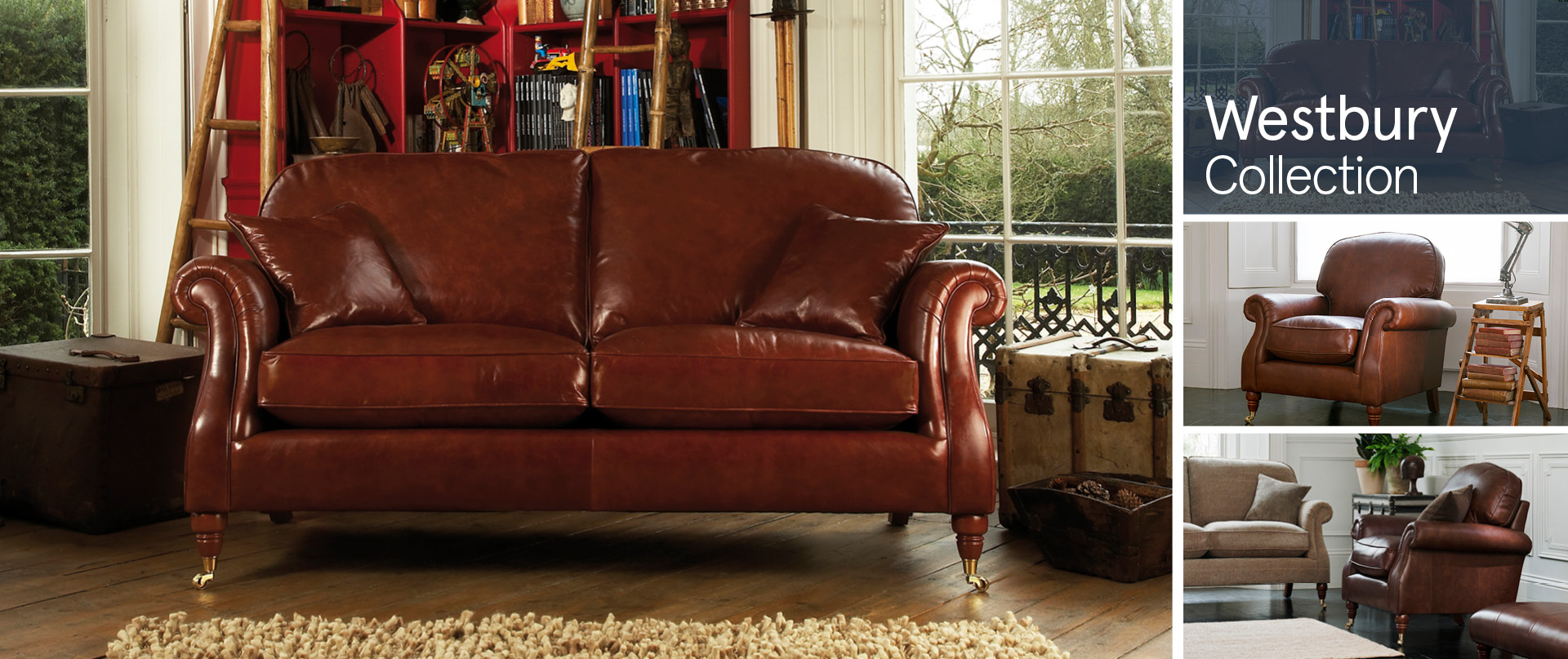 Westbury All Leather Sofa Ranges