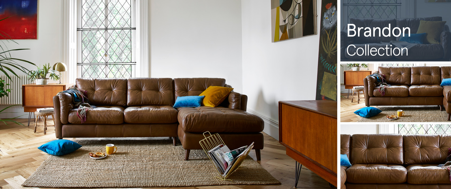 Brandon Leather Sofa Ranges