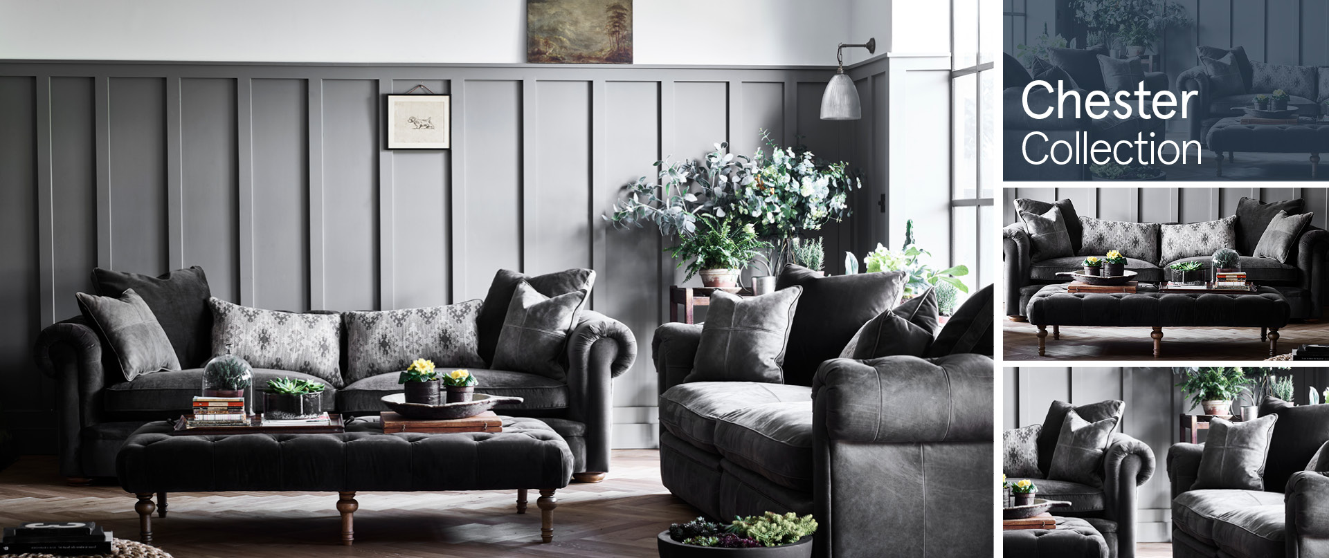 Chester Leather Sofa Ranges