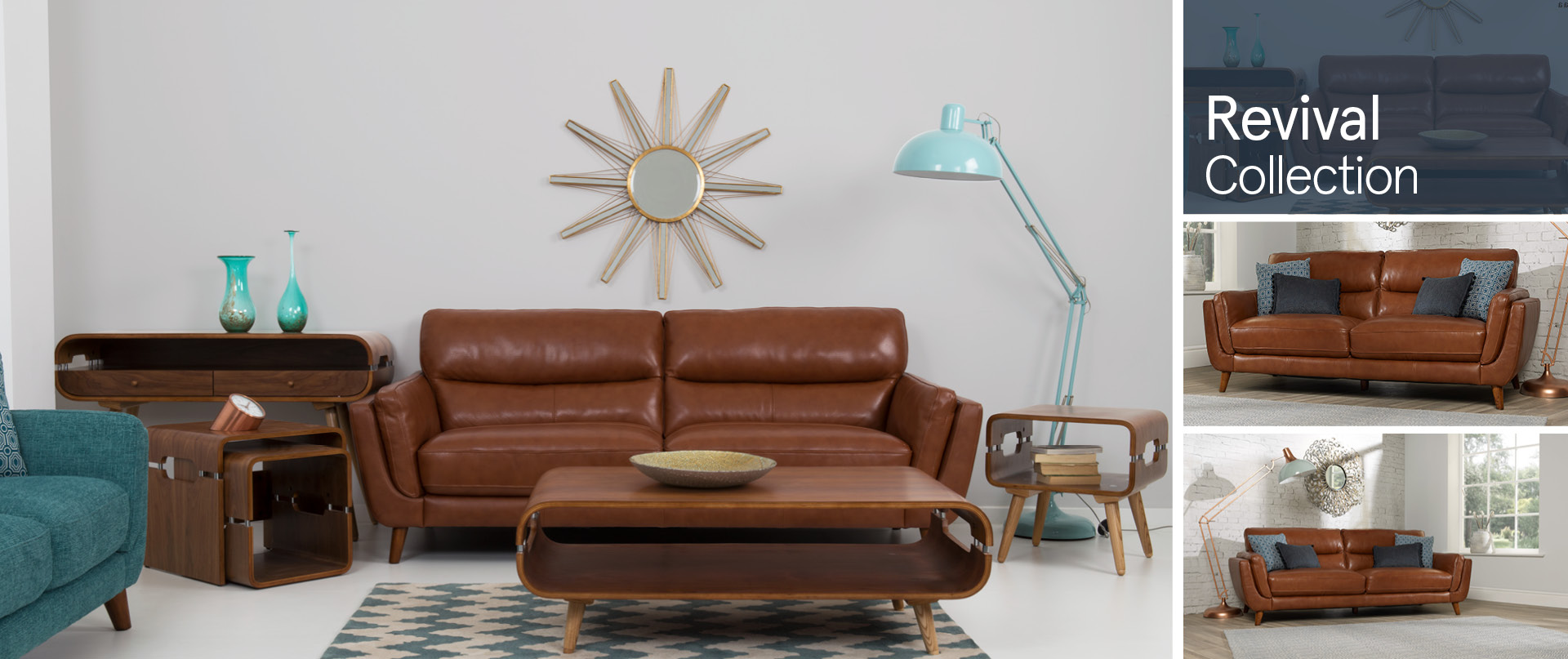 Revival Leather Sofa Ranges