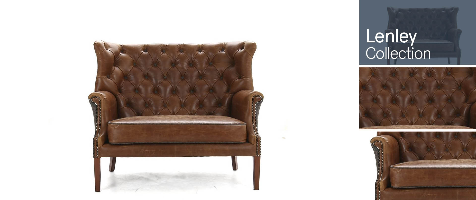 Lenley All-Leather-and-Fabric-Mix-Sofas-Ranges