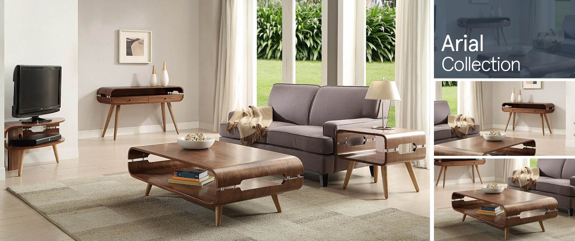 Arial Living Room Furniture Ranges